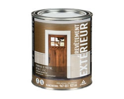 Canac Low Sheen Exterior Latex Paint Natural White & Colours 946 ml