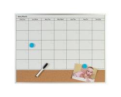 Dry-Erase Calendar & Bulletin Board