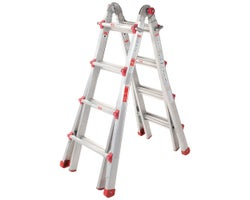 Multi-Purpose Aluminum Ladder 17 ft. Grade 1