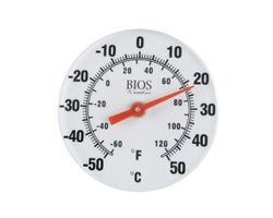 Thermomètre mural 6 po