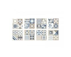Mosaïque autoadhésive Vintage Gaudi 9 po x 9 po (Paquet de 4)