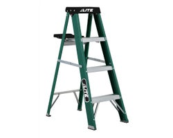Heavy-Duty Fibreglass Stepladder 4 ft. Grade 2
