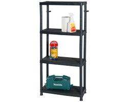 4-Shelf Storage Unit24 in. x 12 in. x 51 in.