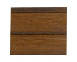 Maibec Modern Urbahn Em+ Wood Siding 6 in. Wood Brown