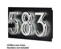 Address Plaque for LED Backlit House Number (Small)