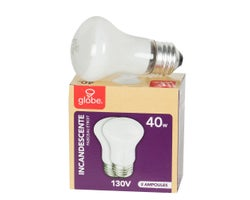 R16 Incandescent Reflector Light Bulbs 40 W (2-Pack)