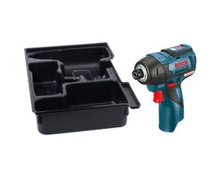 12V MAX EC Brushless Impact Driver with Exact-Fit Insert Tray (Tool Only)