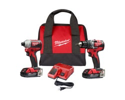 18 V Lithium-Ion Drill Driver & Impact Driver Set