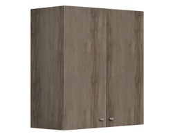 2-Door Upper Kitchen Cabinet Unit 24 in.