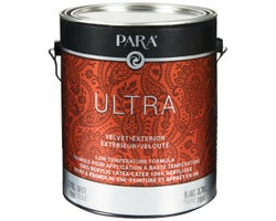 Ultra Exterior Paint Velvet Finish White 3.78 L