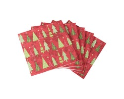 Serviettes de table Arbres (Paquet de 20)