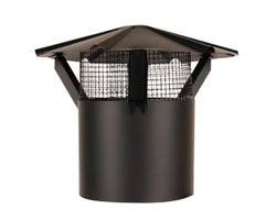 Chimney Cap with Fire Screen 7 in.