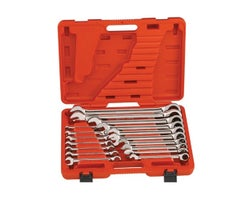 17-Piece Metric Combination Ratcheting Wrench Set