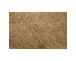 Bizzo Recycled Paper Wall Covering Brown (Fireproof)