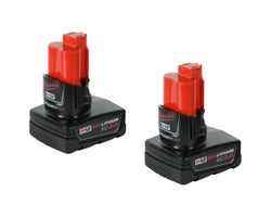 Milwaukee Extended Capacity M12 12 V Batteries