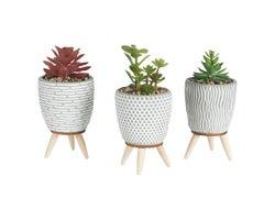 Artificial Plant Trio