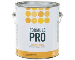 Peinture au latex Formule Pro Velours Blanc naturel 3,78 L