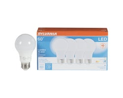 A19 LED Light Bulb Daylight 60 W (4-Pack)