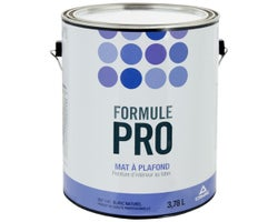 Formule Pro Ceiling Latex Paint Natural White 3.78 L