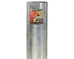 Isolant à bulles AYR-FOIL A2V aluminium/blanc 1 côté, 8 pi x 125 pi
