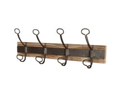 4-Hook Coat Rack 19 in.