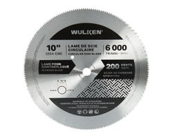 Plywood Circular Saw Blade 10 in. (200 TPI)
