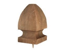 Windsor BrownTreated Wood Head Post 3-1/2 in.