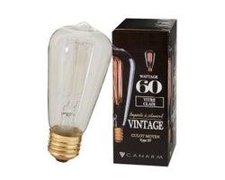 Ampoule incandescente Vintage ST45, 60 W