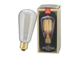 Vintage S60 Incandescent , Light Bulb 40 W