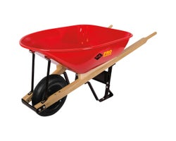 True Temper Industrial Wheelbarrow 6 ft³