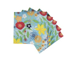 Table Napkins Floral Summer (20-Pack)