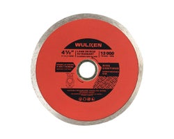 4-1/2 in. Grinder Diamond Blade, (Continuous Rim)
