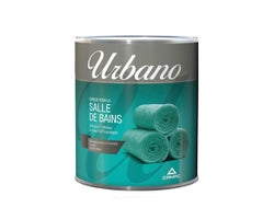 Urbano Bathroom Latex Paint Natural White & Colours 927 ml