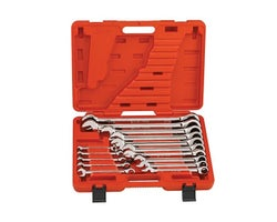 15-Piece Combination Ratcheting, Wrench Set