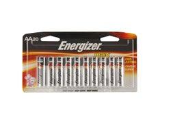Piles Energizer Max AA (Paquet de 20)