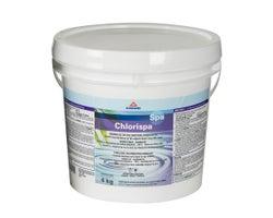 Chlore granulé pour spas 56% 4 kg