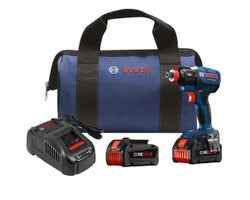 18 V EC Brushless 1/4 in. and 1/2 in. , Socket-Ready Impact Driver Kit, with (2) CORE18V Batteries