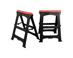 2-Pc. Folding Sawhorse Set22 in.