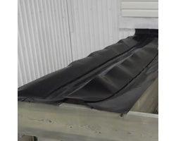 Membrane d'étanchéité à patio , 17 1/4 po x 50 pi