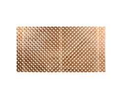 Brown Treated Wood Privacy Lattice 4 ft. x 8 ft.