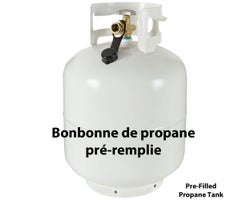Pre-filled Recycled Propane Tank 20 lb