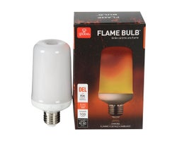E26 Warm White LED Flame-Light Bulb 5 W