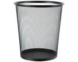 Metal Mesh Trash Wasterbasket 12 L