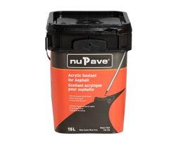 Scellant acrylique pour asphalte NuPave 15 L