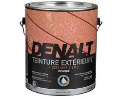 Denalt Solid White Exterior Stain 3.78 L