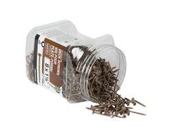Vis à bois traité brune 1 1/2 po n° 8 T.P. boîte/1 000