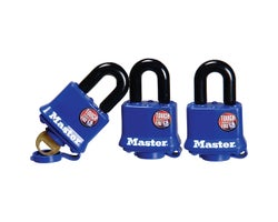 Identical Outdoor Padlocks - 1-9/16 in. (3-Pack)