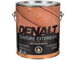 Denalt Semi-Transparent Natural Exterior Stain 3.78 L