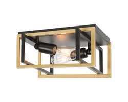 Caza 2-Light Ceiling Mount