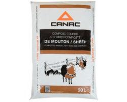 Sheep Manure & Peat Moss Compost - 30 L